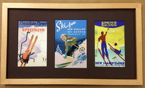 Vintage Ski Prints - Casco Bay Frames & Gallery